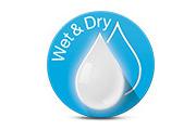 Wet & Dry Usage