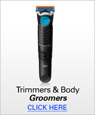 Braun Trimmers & Body Groomers