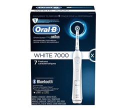 Oral B Bluetooth Toothbrushes oral b precision 7000 white bluetooth
