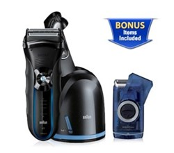 Shaver With Cleaning System braun 350cc m60