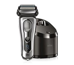 Shaver With Cleaning System braun 9090cc
