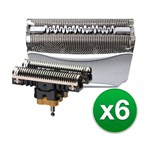 Braun 8000cp/51s(6-pack) Braun Replacement Foil And Cutter Combo 8000c