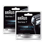 Braun 9000CP/70s_X2 Replacement Foil and Cutter 2-Pack
