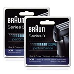 Braun 7000FC/30B_X2 Replacement Foil and Cutter 2-Pack 37339-5