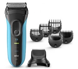 Shaver With Cleaning System braun 3010bt