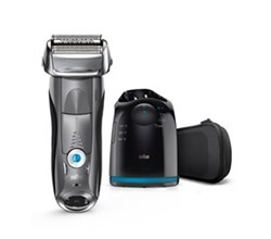Shaver With Cleaning System braun 7865cc