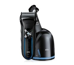 Shaver With Cleaning System braun 350cc