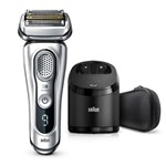 Braun 9370cc Wet and Dry Shaver with Clean and Charge System and Travel Case